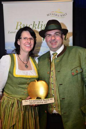 Goldener Apfel - schon zum dritten Mal!