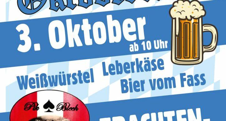 Oktoberfestl im Blockhaus